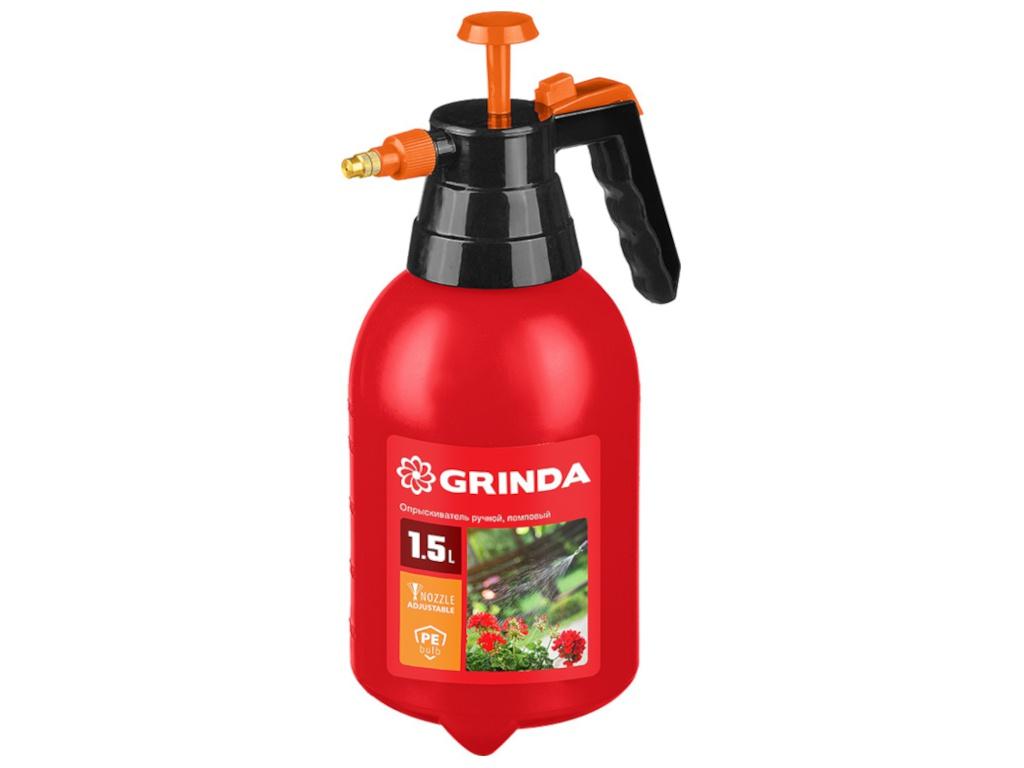 Опрыскиватель Grinda PS-1.5 1.5L 8-425059 z01 / z02 опрыскиватель ручной grinda 12л handy spray 8 425161