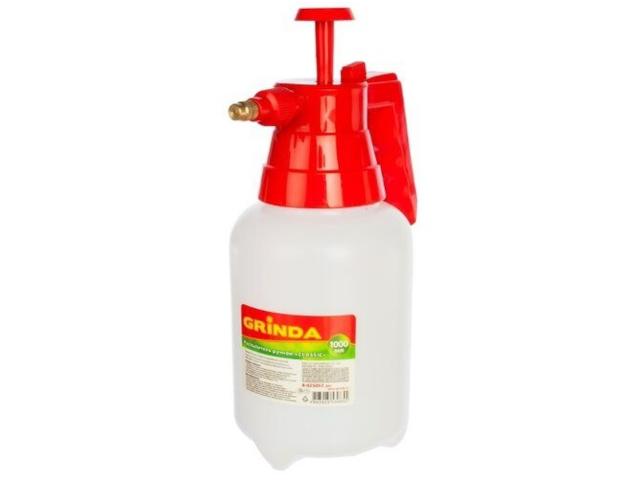 Опрыскиватель Grinda PS-1 1L 8-425057 z01 / z02 опрыскиватель ручной grinda 12л handy spray 8 425161