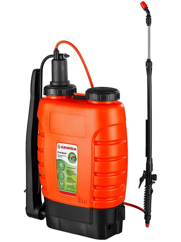 Опрыскиватель GRINDA Fine Spray 15 л опрыскиватель ручной grinda 12л handy spray 8 425161