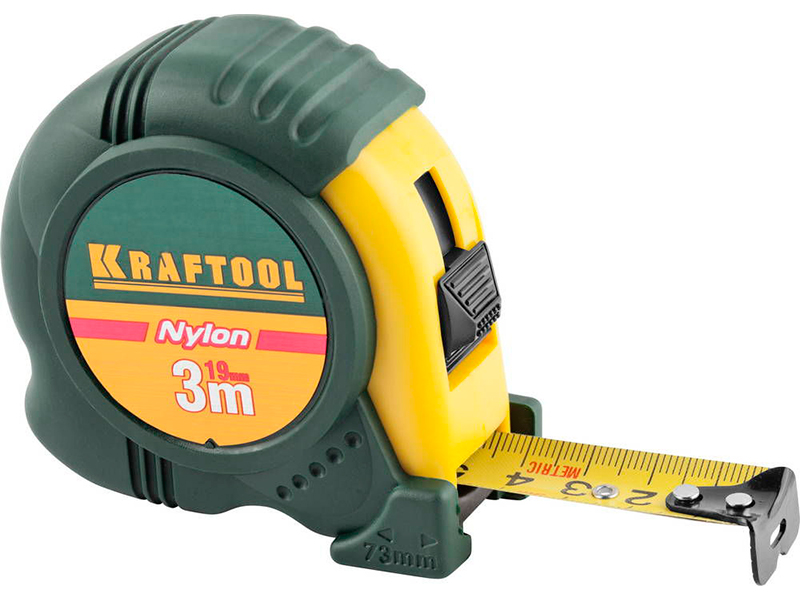 Рулетка Kraftool Nylon 3m x 19mm 34122-03-19 / z01