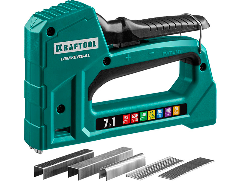 Степлер Kraftool Universal 7-в-1 31524