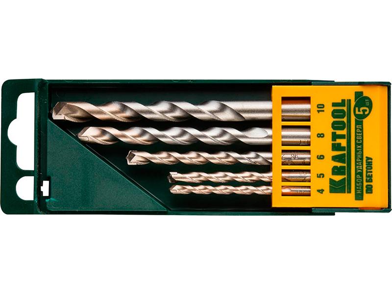 Набор сверл Kraftool Industrie Qualitat по бетону 5шт 29165-H5