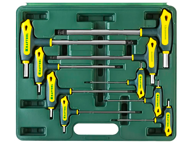 Набор ключей Kraftool Industrie 27454-H9