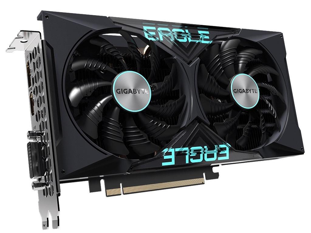 цена на Видеокарта GigaByte GeForce GTX 1650 D6 EAGLE OC 4G 1590MHz PCI-E 3.0 4096Mb 12000Mhz 128-bit DP HDMI DVI-D GV-N1656EAGLE OC-4GD