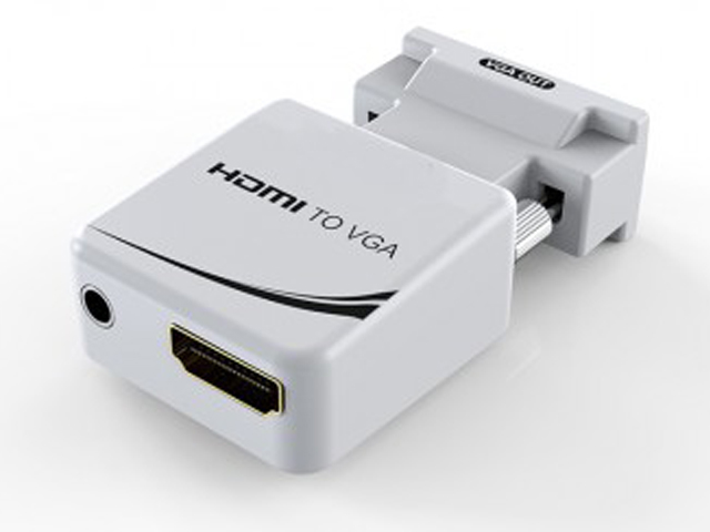 Аксессуар KS-is HDMI F to VGA + Audio KS-425