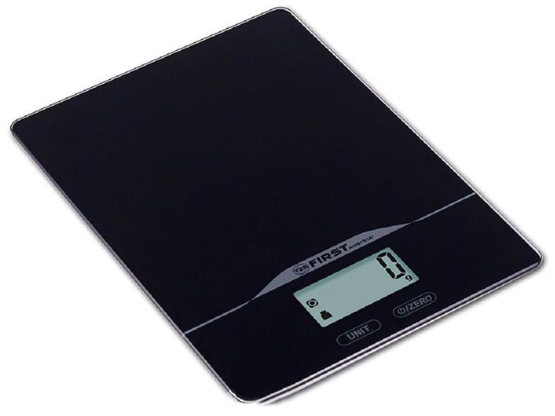 Весы First Austria FA-6400-BA first fa 6400 2 wi white кухонные весы