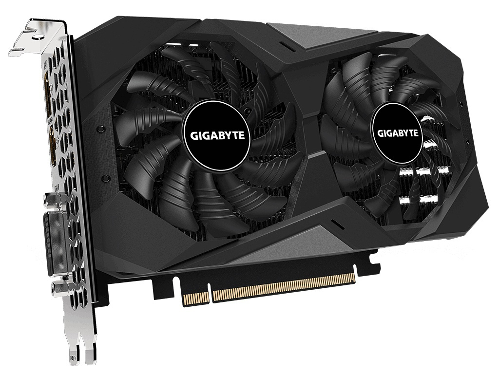 Видеокарта GigaByte GeForce GTX 1650 D6 Windforce OC 4G 1710MHz PCI-E 3.0 4096Mb 12000Mhz 128-bit DP HDMI DVI-D GV-N1656WF2OC-4GD Выгодный набор + серт. 200Р!!!
