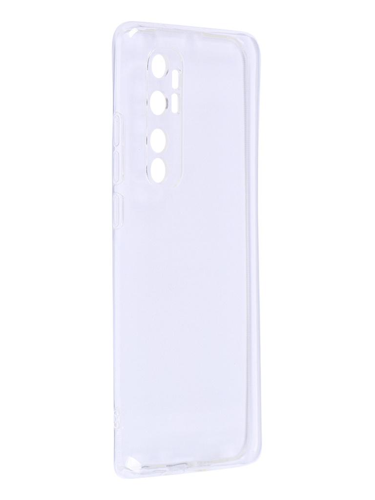 Чехол iBox для Xiaomi Mi Note 10 Lite Crystal Silicone Transparent УТ000021189
