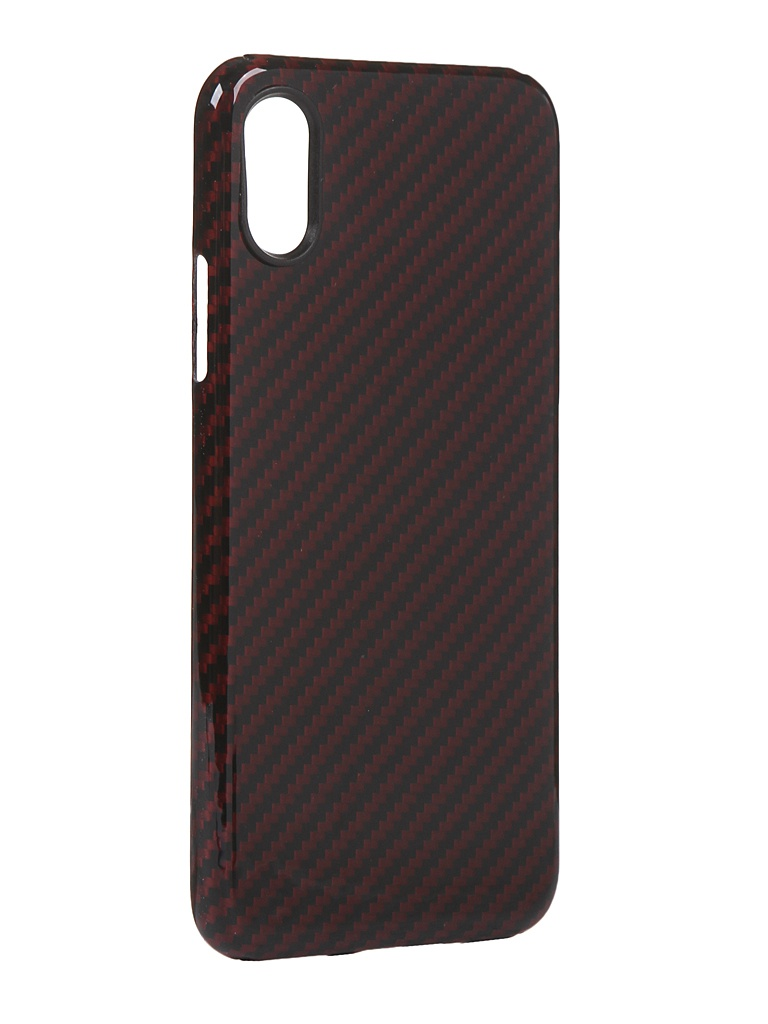 Чехол Red Line для APPLE iPhone XS Carbon Glossy УТ000021551