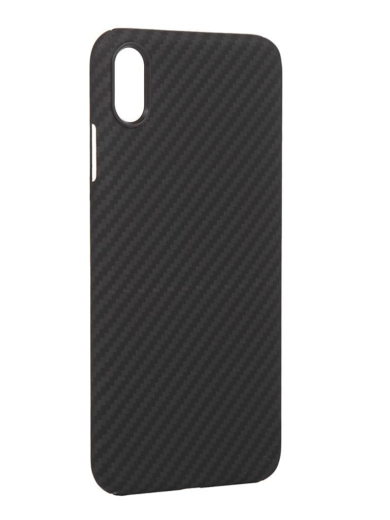 Чехол Red Line для APPLE iPhone XS Max Carbon Matte Grey УТ000021549