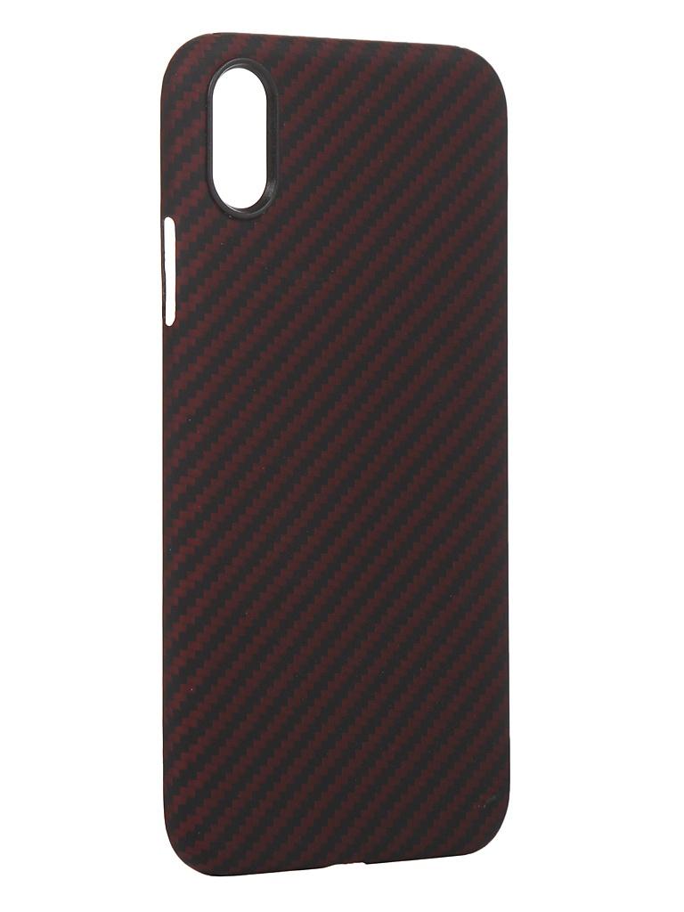 Чехол Red Line для APPLE iPhone XR Carbon Matte УТ000021542