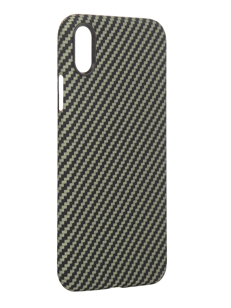 Чехол Red Line для APPLE iPhone XR Carbon Matte Green УТ000021541