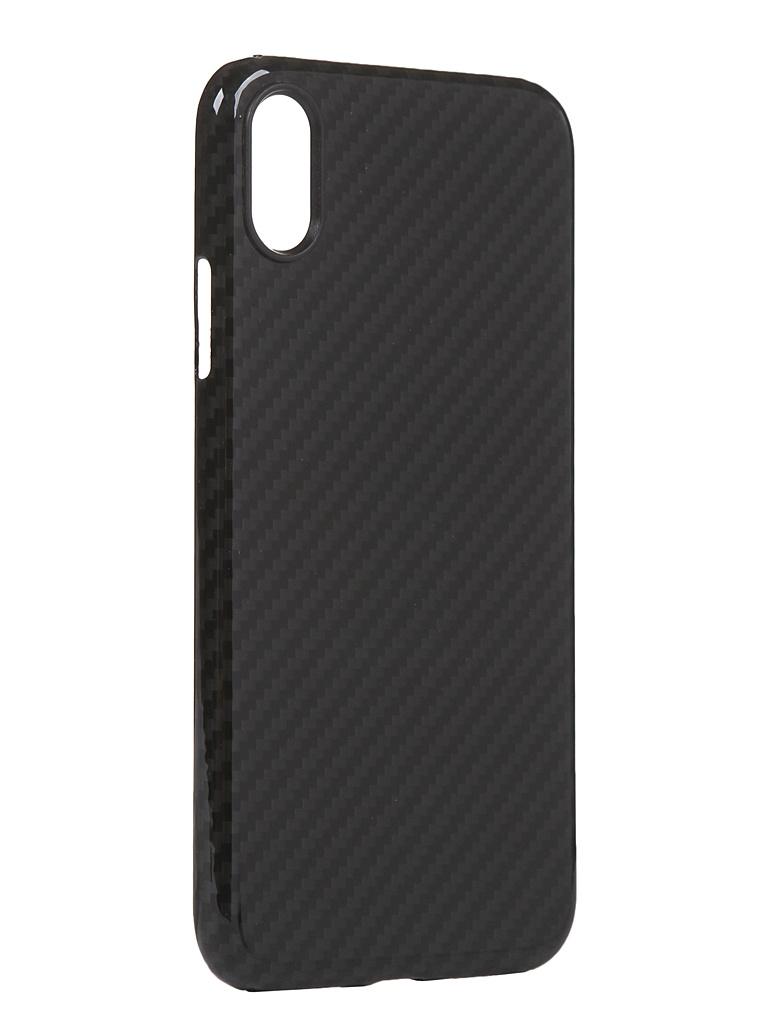 Чехол Red Line для APPLE iPhone XR Carbon Glossy Grey УТ000021540