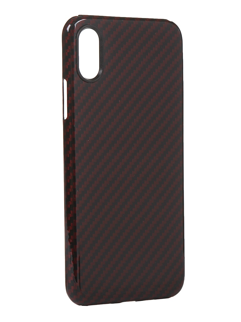 Чехол Red Line для APPLE iPhone X Carbon Glossy УТ000021536