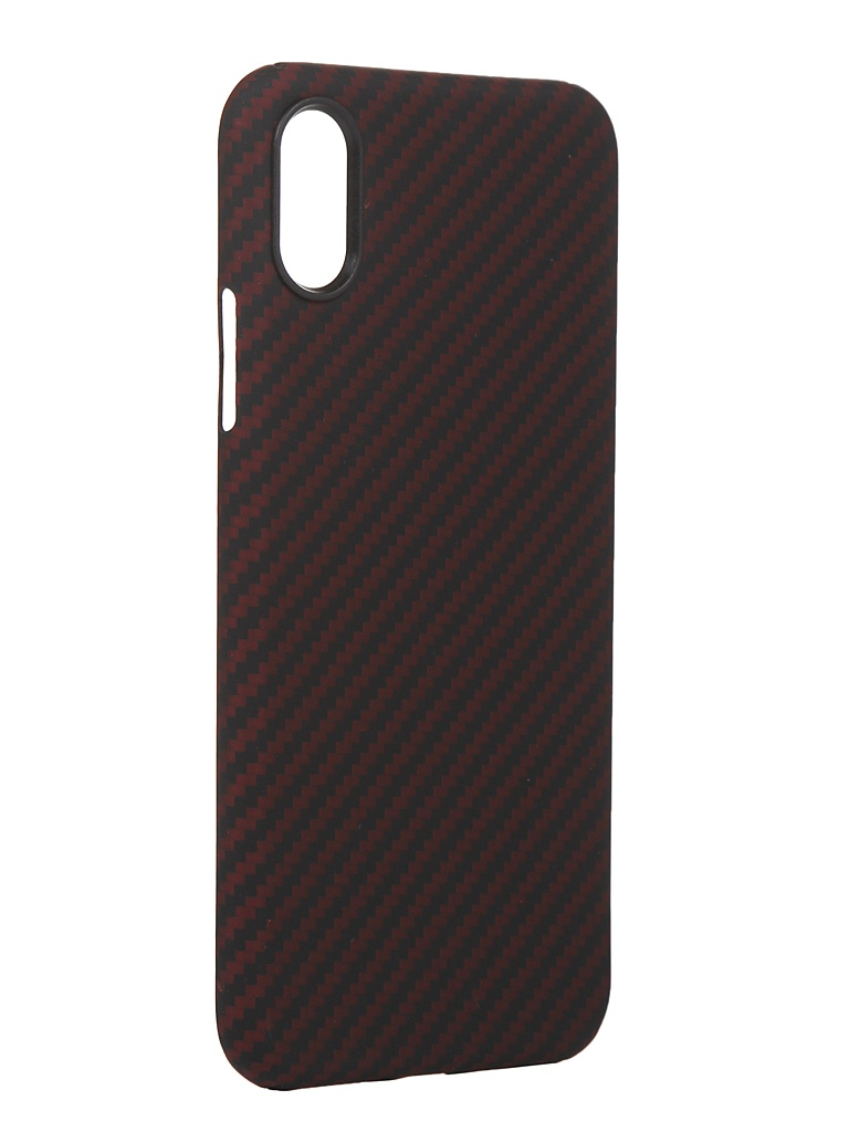 Чехол Red Line для APPLE iPhone X Carbon Matte УТ000021533