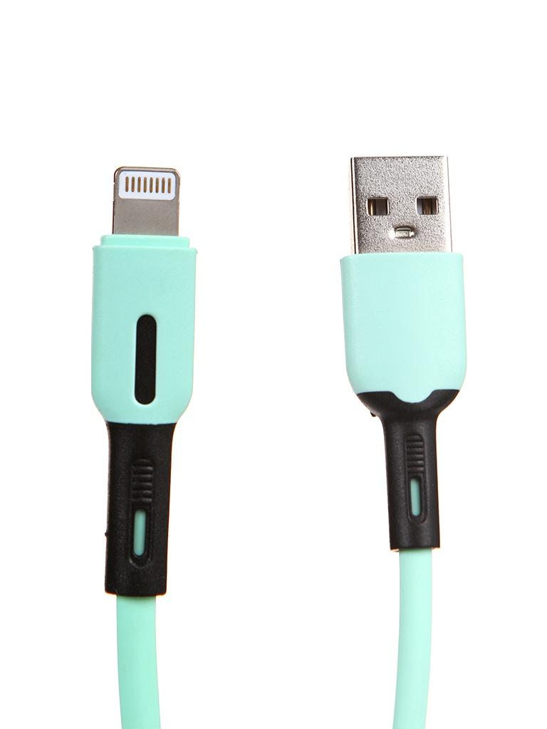 Аксессуар Usams SJ431 USB - Lightning с индикатором 1.0m Mint УТ000021046 аксессуар usams us cc076 2 in 1 lightning apple watch
