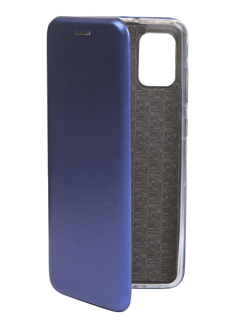 Чехол Zibelino для Samsung Galaxy A31 (A315) Book Blue ZB-SAM-A315-BLU
