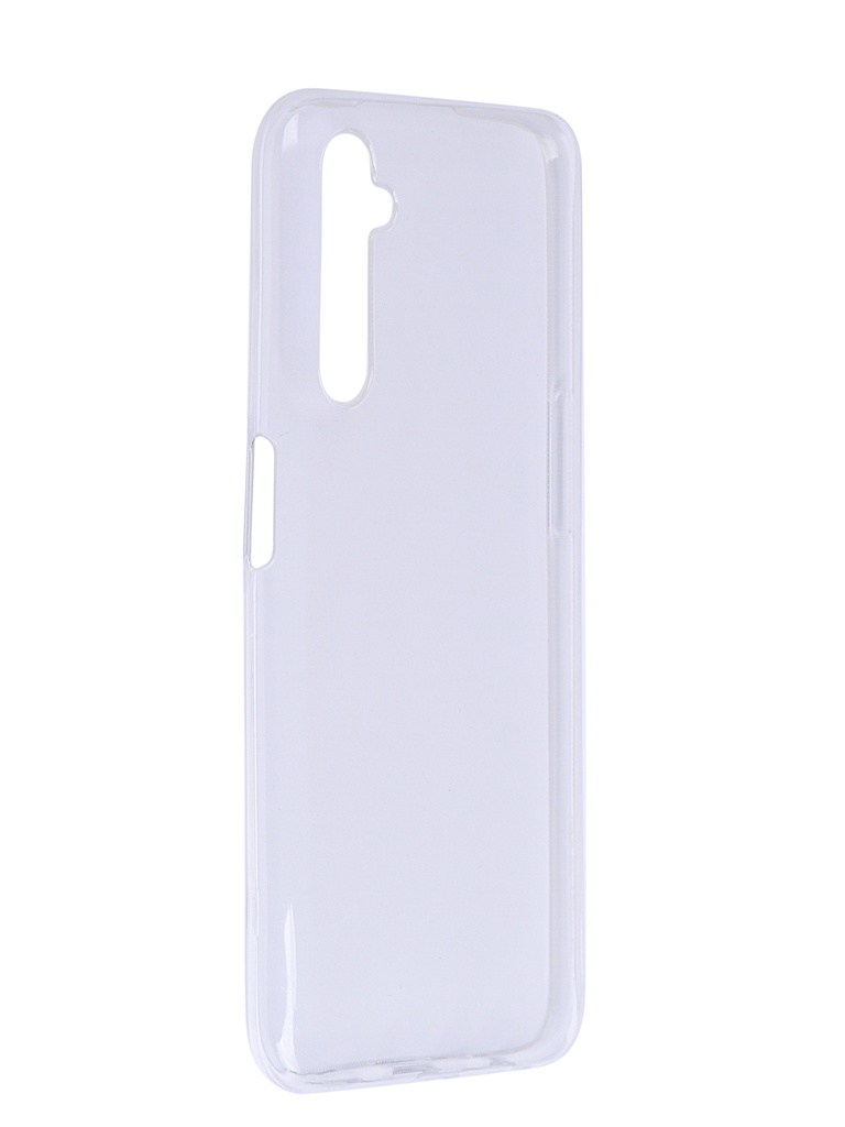 Чехол Zibelino для Realme 6 Ultra Thin Case Transparent ZUTC-RLM-6-WHT