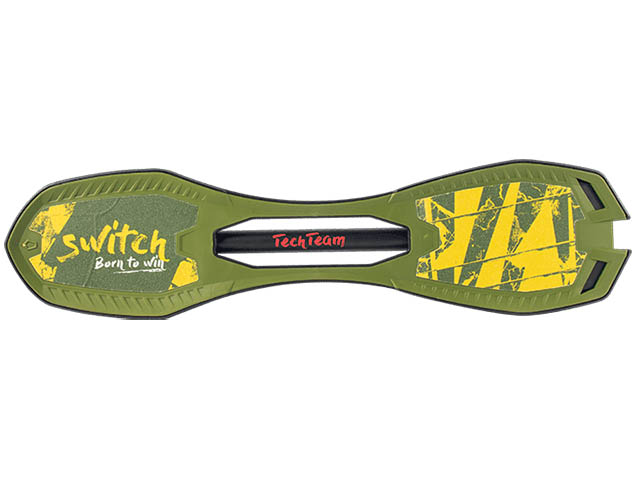 Скейт Tech Team Switch Green-Yellow