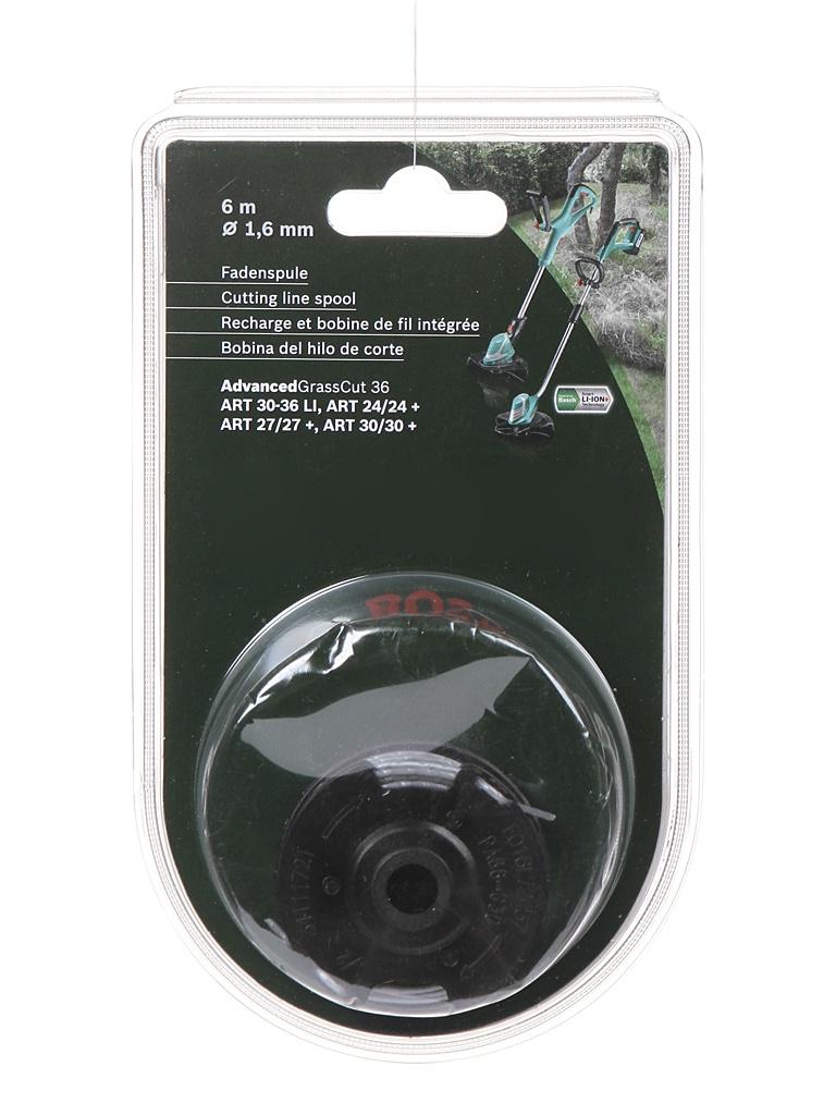 Шпулька с леской Bosch 1.6mm x 6m для ART F016800351