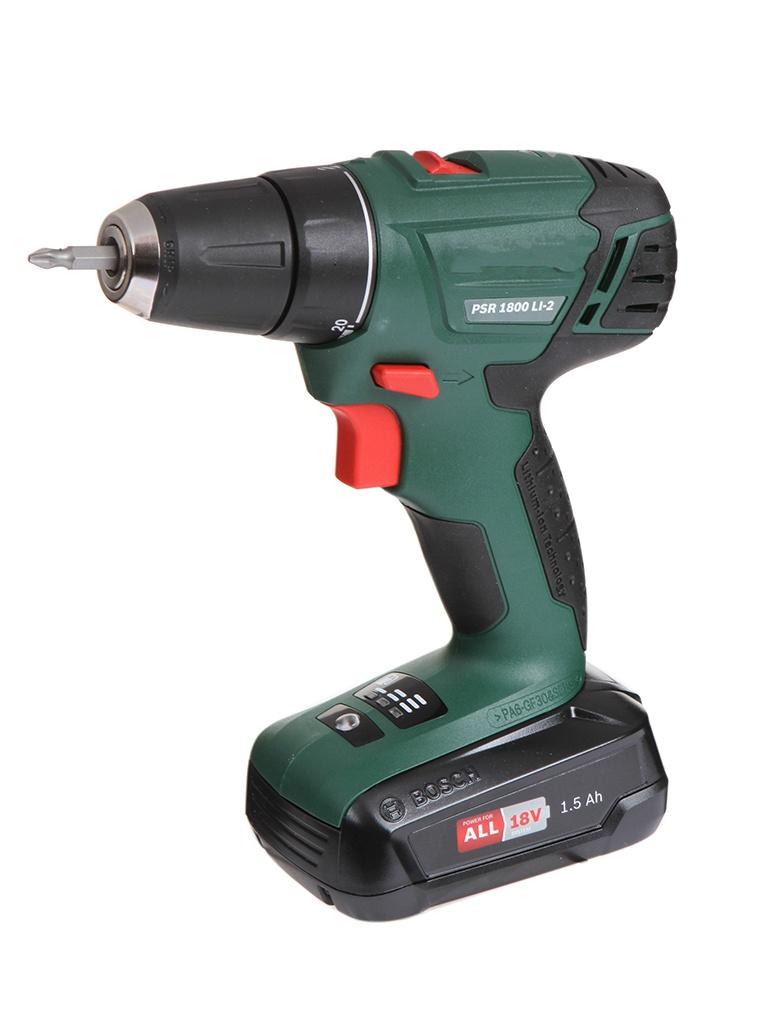 цена на Электроинструмент Bosch PSR 1800 LI-2 06039A310H