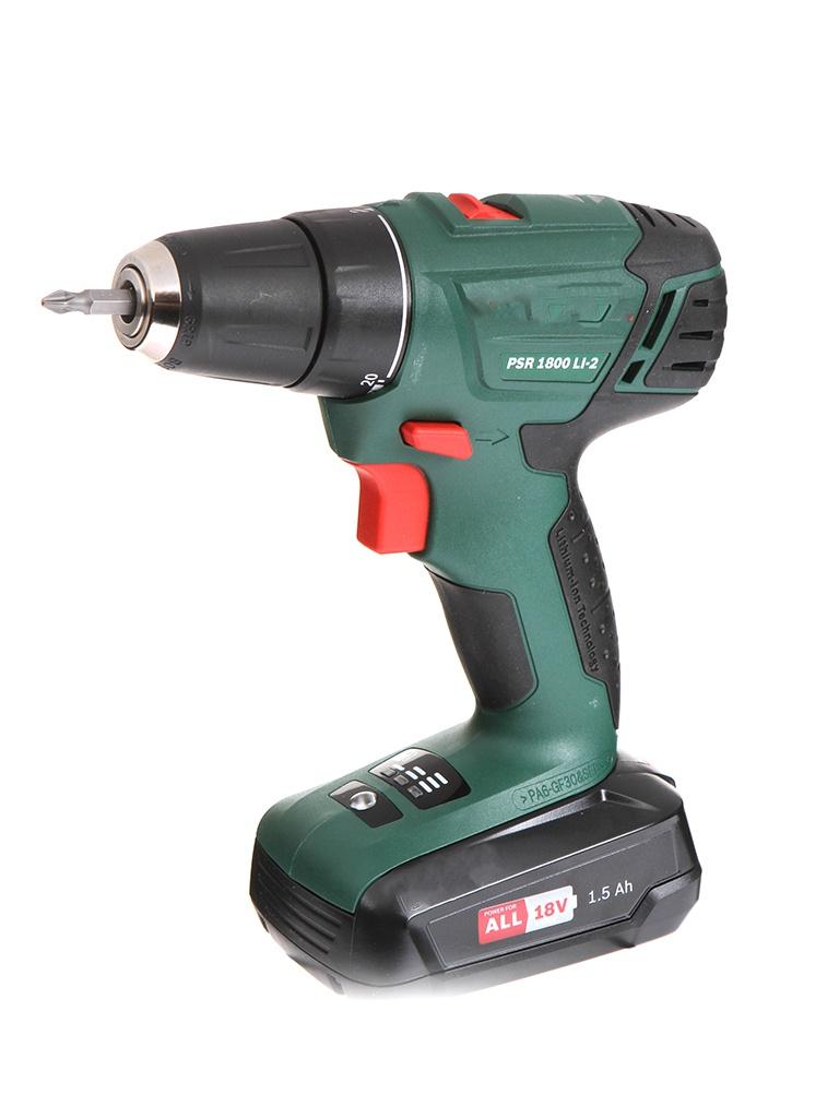 цена на Электроинструмент Bosch PSR 1800 LI-2 06039A310U