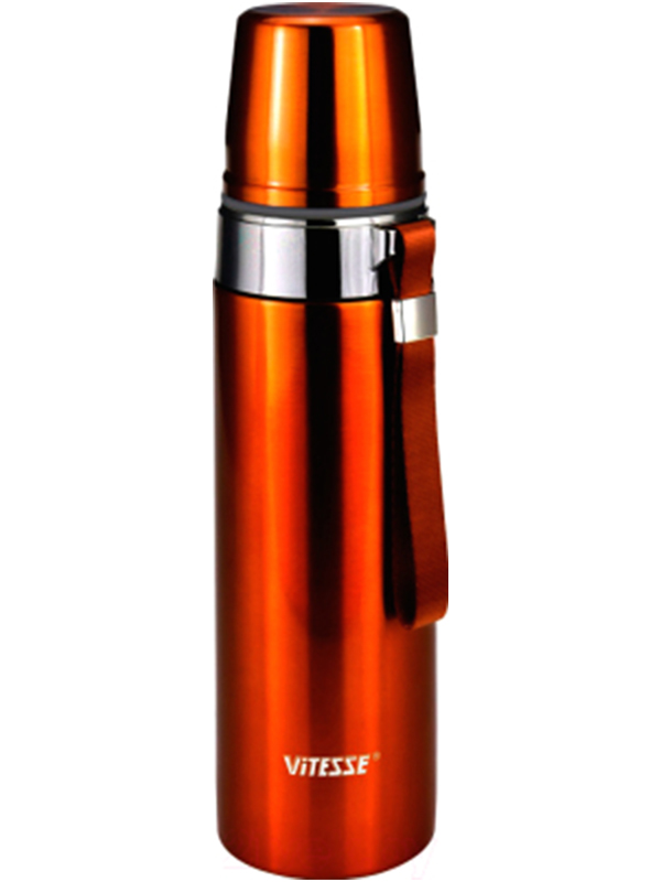 Термос Vitesse 1L VS-2634 Orange мультиварка vitesse vs 576