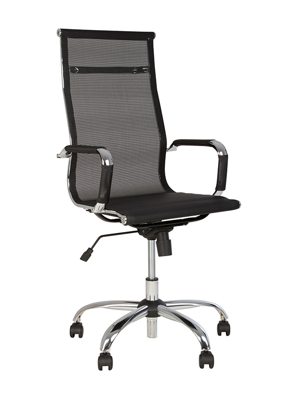 Компьютерное кресло Nowy Styl Slim HB Net Tilt CHR68 T-01 WRS55GQTR25C00TTTT001CM03