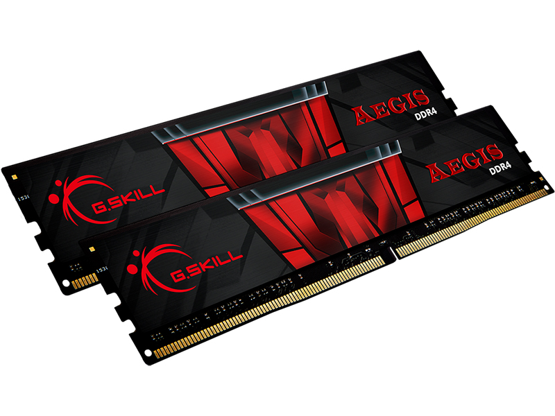 Модуль памяти G.Skill Aegis DDR4 DIMM 3200MHz PC-25600 CL16 - 32Gb KIT (2x16Gb) F4-3200C16D-32GIS