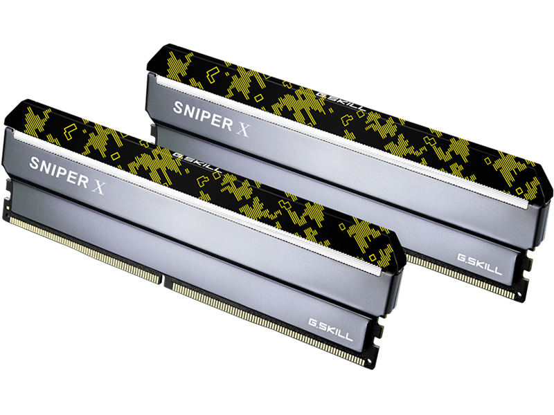 Модуль памяти G.Skill Sniper X DDR4 3600MHz PC-28800 CL19 - 32Gb KIT (2x16Gb) F4-3600C19D-32GSXKB