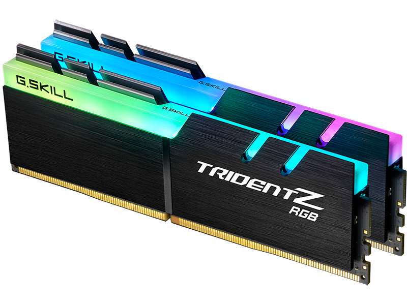 Модуль памяти G.Skill Trident Z RGB DDR4 4000MHz PC-32000 CL18 - 16Gb KIT (2x8Gb) F4-4000C18D-16GTZR