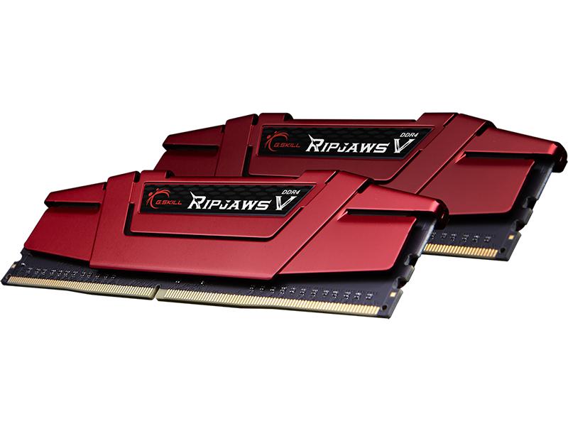 Модуль памяти G.Skill Ripjaws V DDR4 DIMM 3466MHz PC4-27700 CL16 - 16Gb KIT (2x8Gb) F4-3466C16D-16GVR