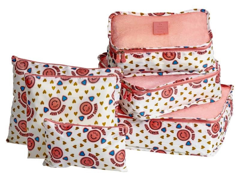 Органайзеры для хранения Bradex 6шт Pink TD 0584