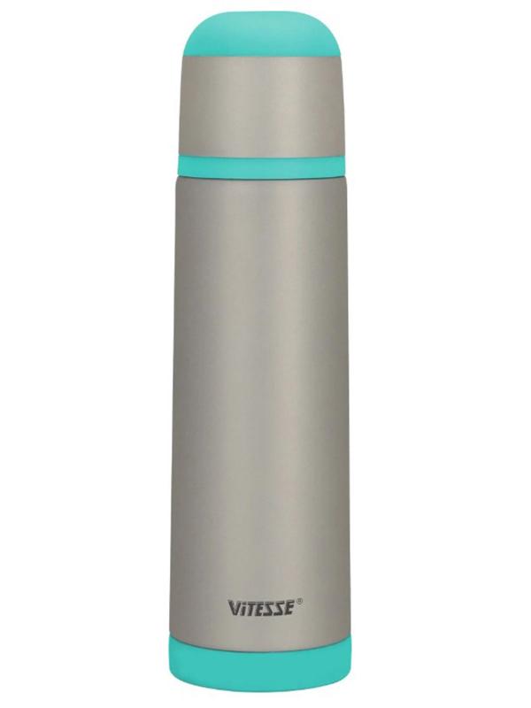 Термос Vitesse 750ml VS-2625 Steel-Turquoise
