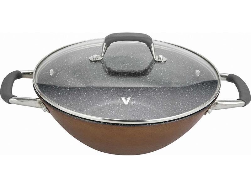 Сковорода Vitesse VS-2334 28 см с крышкой мультиварка vitesse vs 576