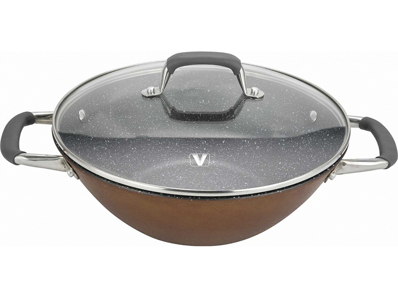 Сковорода Vitesse VS-2335 30 см с крышкой мультиварка vitesse vs 576