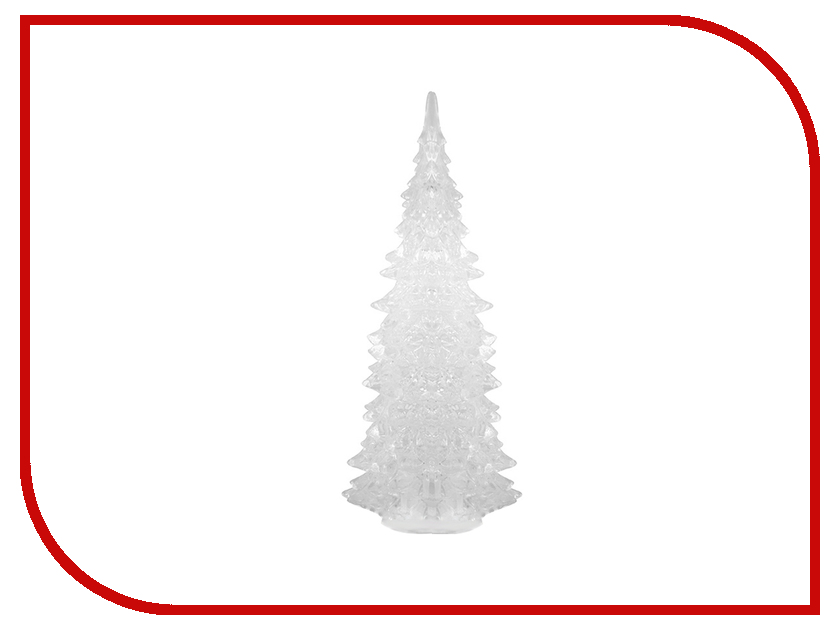 Новогодний сувенир Orient Ёлочка Хрустальная USB 13см 340