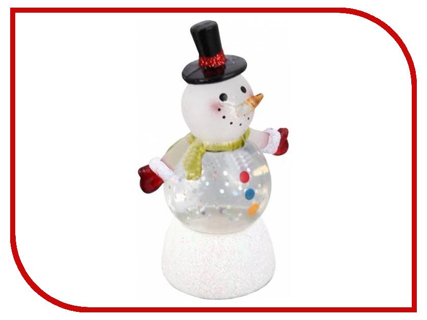 Новогодний сувенир Снеговик-светофор Orient NY6011<br>