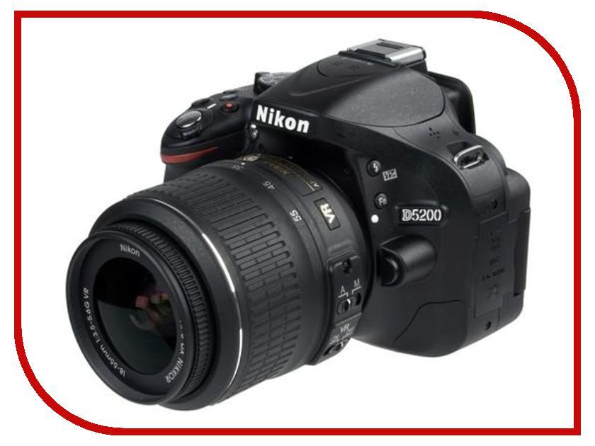����������� Nikon D5200 Kit AF-S DX 18-55 mm f/3.5-5.6G VR II Black