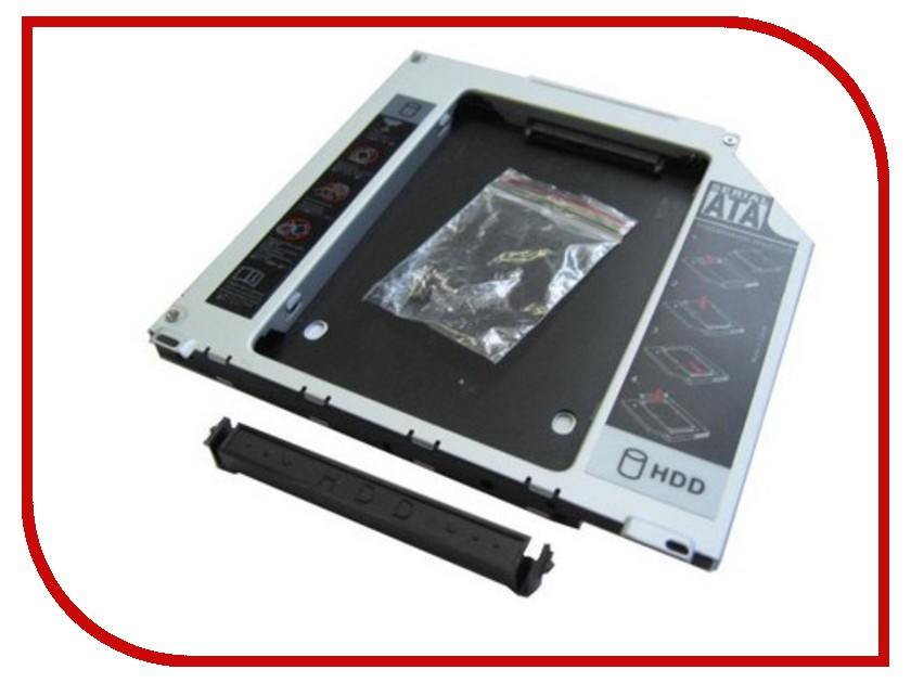 SSD/HDD в CD-DVD ROM (Optibay) SS95  Optibay Espada SS95