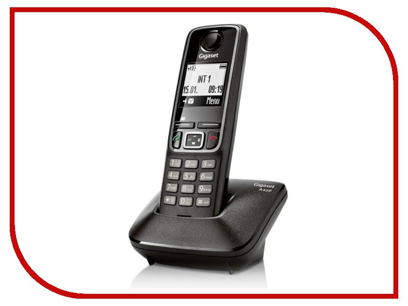 Радиотелефон Gigaset A420 Black<br>