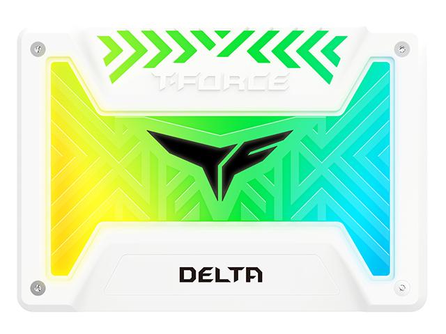 Твердотельный накопитель Team Group Delta T-Force RGB 250Gb T253TR250G3C413