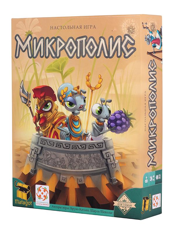 Настольная игра Стиль жизни Микрополис