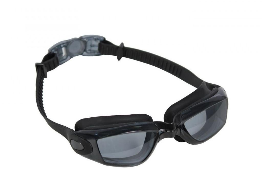 Очки для плавания Bradex Комфорт+ Black-Transparent SF 0388