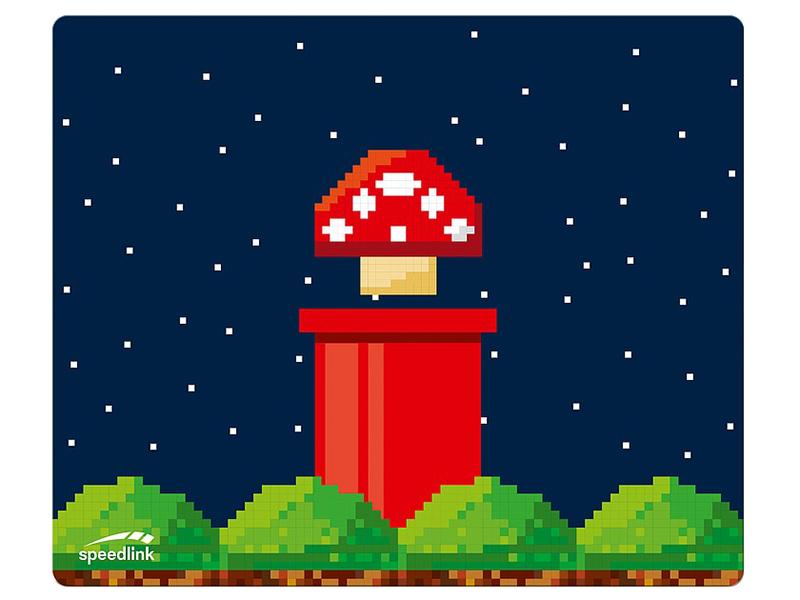 Коврик Speedlink SL-620702-Retro Vinpad Retro-Design Mushroom