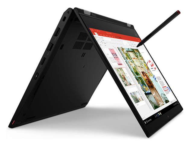 Ноутбук Lenovo ThinkBook Yoga L13 Black 20R5000ERT (Intel Core i7-10510U 1.8 GHz/8192Mb/256Gb SSD/Intel HD Graphics/Wi-Fi/Bluetooth/Cam/13.3/1920x1080/Windows 10 Pro 64-bit)