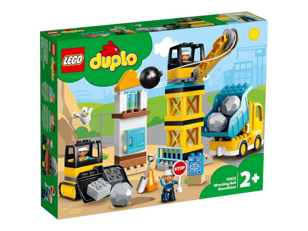 Конструктор Lego Duplo Шаровой таран 56 дет. 10932