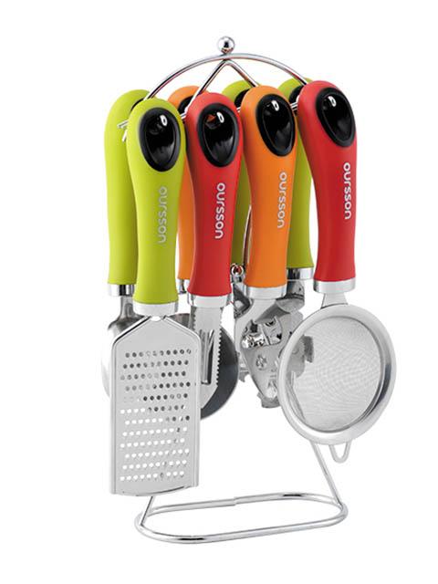 Набор кухонных аксессуаров Oursson SA3007PM/MC colibri набор кухонных аксессуаров
