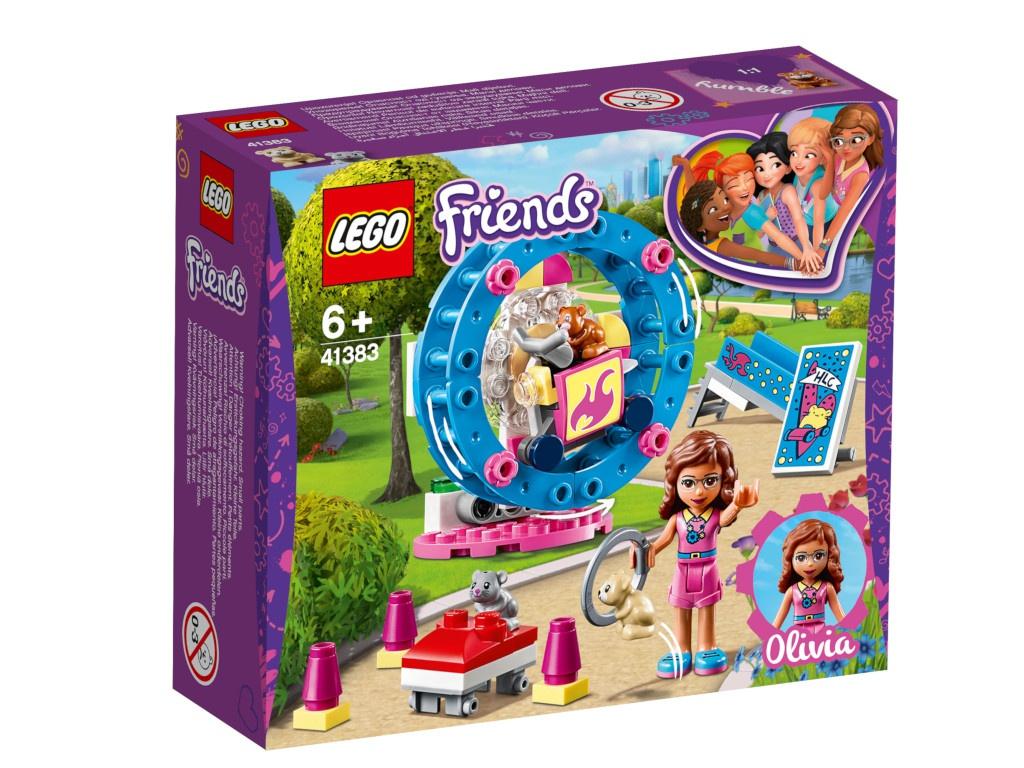 Конструктор Lego Friends Игровая площадка для хомячка Оливии 81 дет. 41383