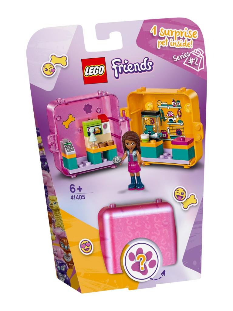 Конструктор Lego Friends Игровая шкатулка Покупки Андреа 40 дет. 41405